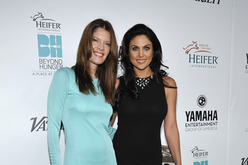 Nadia Bjorlin Celebs at Heifer International's 'Beyond Hunger' Event