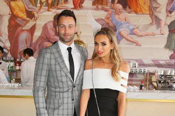 Nadia Coppolino Celebrities Attend Derby Day