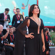 Nadine Labaki 'J'Accuse' (An Officer And A Spy) Red Carpet Arrivals - The 76th Venice Film Festival