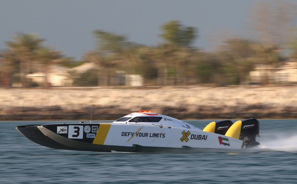UIM XCAT World Series - Round 6, Abu Dhabi GP - Day 2