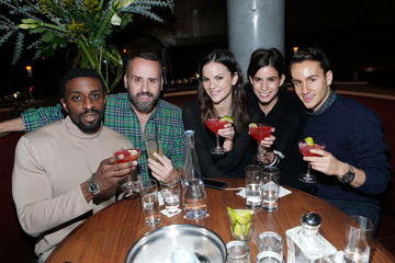 Naeem Delbridge Celebs at the Tequila Baron Launch Party