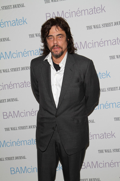 "Actor Benicio del Toro the benefit screening of ""The Naked Island"" at BAM Rose Cinemas on April 22, 2011 in the Brooklyn borough of New York City."