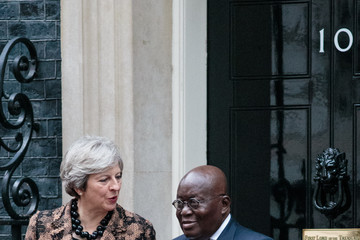Nana Akufo-Addo The Prime Minister Meets the President of Ghana
