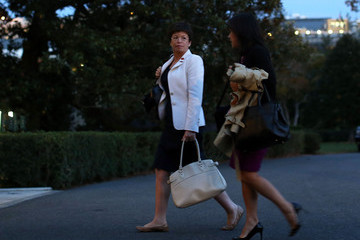 Nancy-Ann DeParle President Obama Arrives Back At White House After Final Debate, And Campaign Stops