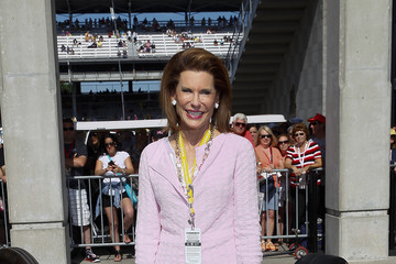 Nancy Brinker Celebrities Attend Race - 2014 Indy 500