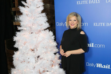 Nancy Grace DailyMail.com & Elite Daily Holiday Party With Jason Derulo