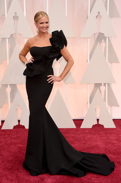 Nancy O'Dell - Arrivals at the 87th Annual Academy Awards — Part 3