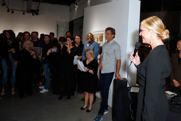 Nancy O'Dell De Re Gallery Hosts Best Buddies 'The Art of Friendship' Benefit Photo Auction