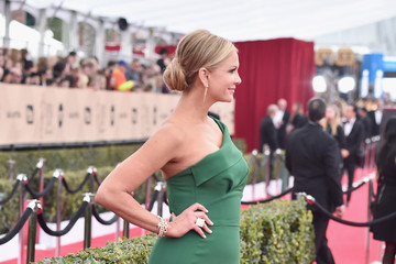 Nancy O'Dell 22nd Annual Screen Actors Guild Awards - Red Carpet