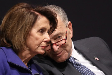 Nancy Pelosi Chuck Schumer U.S. Capitol Police Officers Honored After Congressional Baseball Shooting