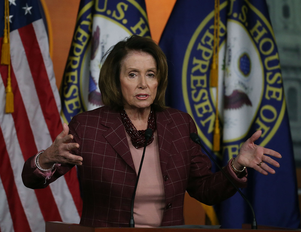 I News Streaming: Nancy Pelosi Holds News Conference At The Capitol