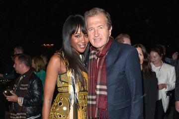 Naomi Campbell Mario Testino Burberry 'London In Los Angeles' Event - Inside