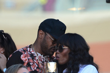 Naomi Campbell Maxwell Guests at the Moet and Chandon Suite