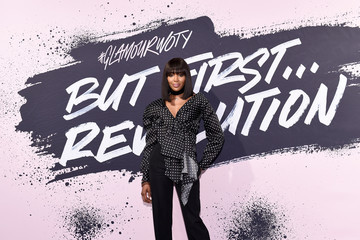 Naomi Campbell Glamour Celebrates 2017 Women of the Year Live Summit