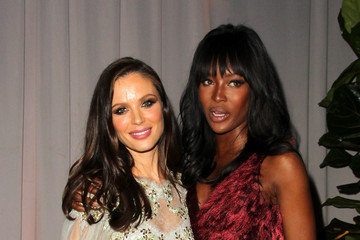 Naomi Campbell The Weinstein Company and Netflix Golden Globes Party