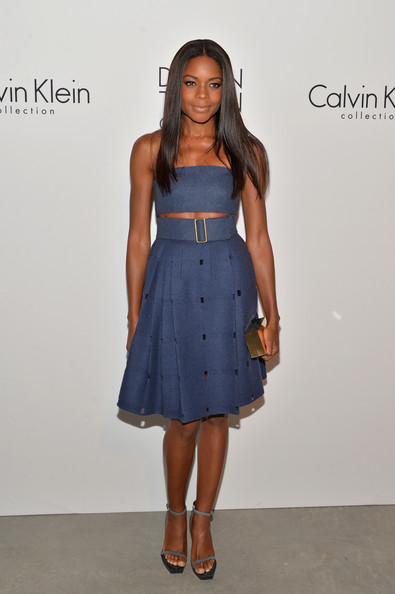 Naomie Harris - MBFW: Calvin Klein Collection Post Show Event