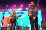 Sheryl Crow and Brandi Carlile perform during To Nashville, With Love A Concert Benefiting Local Tornado Relief Efforts at Marathon Music Works on March 09, 2020 in Nashville, Tennessee.