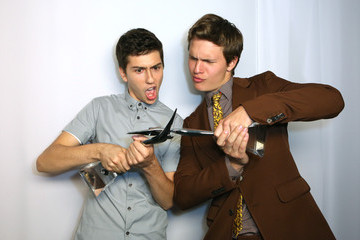 Nat Wolff Ansel Elgort Inside the Young Hollywood Awards