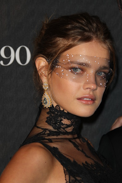 Natalia Vodianova Natalia Vodianova attends Vogue 90th Anniversary Party at Hotel Pozzo di Borgo on September 30, 2010 in Paris, France.