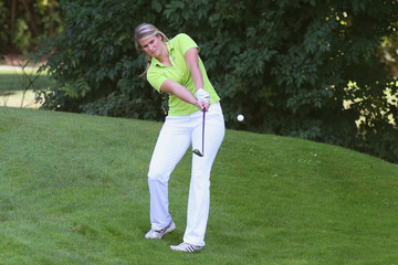 Natalie Geisenberger 19th FC Bayern Muenchen Charity Golf Cup
