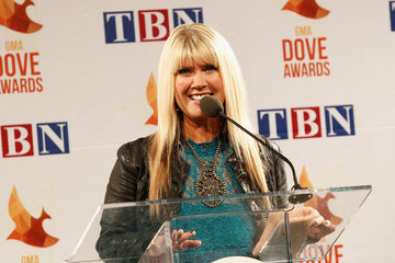 Natalie Grant Backstage at the 45th Annual Dove Awards