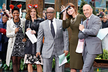 Natalie Morales Matt Lauer YLVIS Performs on the 'Today' Show