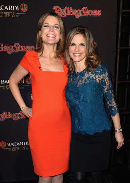 Savannah Guthrie And Natalie Morales Rolling Stone Hosts The Bacardi