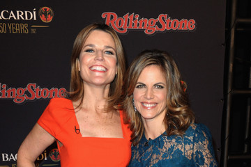 Natalie Morales Savannah Guthrie Rolling Stone Hosts The Bacardi Bash