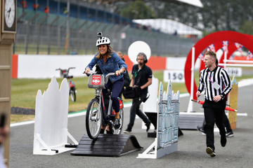 Natalie Pinkham Santander Cycles at Silverstone