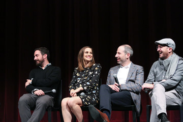 Natalie Portman Pablo Larrain The Academy of Motion Picture Arts and Sciences Hosts an Official Academy Screening of 'Jackie'