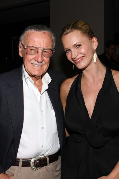 Hollywood Reporter Cocktail Reception with Stan Lee At Comic-Con