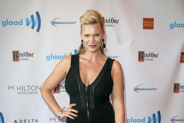 Natasha Henstridge Ketel One Vodka Hosts The VIP Red Carpet Suite At The 25th Annual GLAAD Media Awards