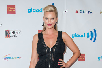 Natasha Henstridge 25th Annual GLAAD Media Awards - Arrivals