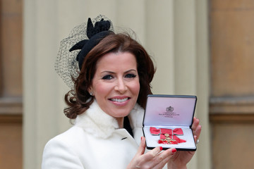 Natasha Kaplinsky Investiture Ceremony at Buckingham Palace