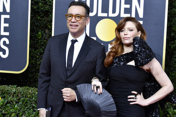 Natasha Lyonne Fred Armisen 77th Annual Golden Globe Awards - Arrivals