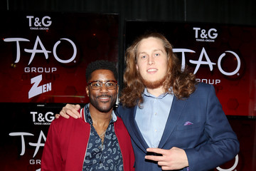 Nate Burleson TAO Group's Big Game Takeover Presented By Tongue & Groove