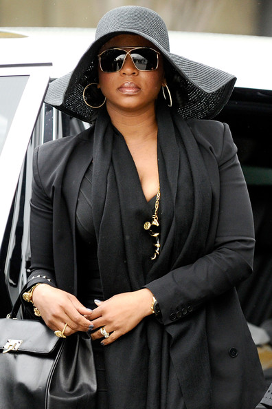 Friends and Family Arriving At Nate Dogg's Funeral Service ...