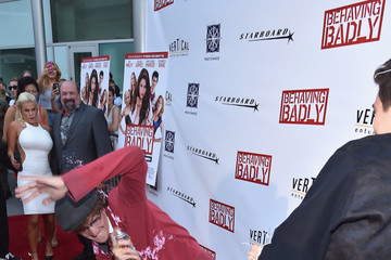 Nate Hartley 'Behaving Badly' Premieres in Hollywood