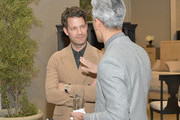 Nate Berkus (L) and Tan France attend Nate + Jeremiah For Living Spaces at HNYPT on April 11, 2019 in Los Angeles, California.