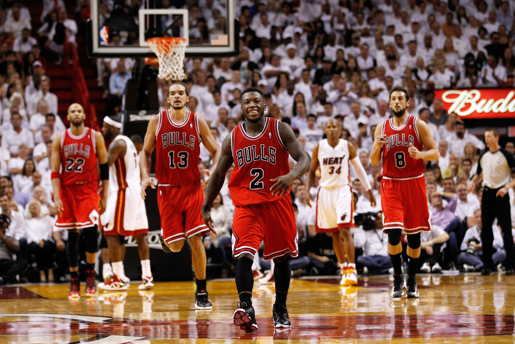 Nate Robinson And The Chicago Bulls Handled The Miami Heat In Game 1