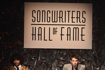 Nate Ruess Celebrities Party at the Songwriters Hall of Fame 46th Annual Induction And Awards
