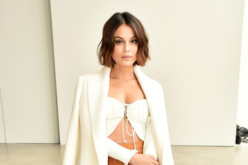 Nathalie Kelley Dion Lee - Front Row - February 2018 - New York Fashion Week: The Shows
