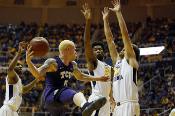 Nathan Adrian TCU v West Virginia
