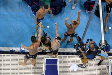 Nathan Adrian Swimming - Olympics: Day 2