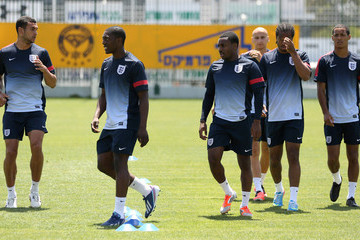 Nathan Delfouneso Marvin Sordell England Training and Press Conference