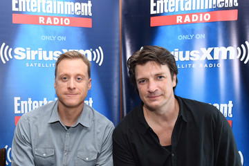 Nathan Fillion SiriusXM's Entertainment Weekly Radio Channel Broadcasts From Comic-Con 2016 - Day 3