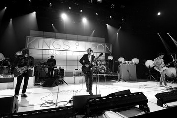 Nathan Followill Kings Of Leon On AT&T At iHeartRadio Theater LA