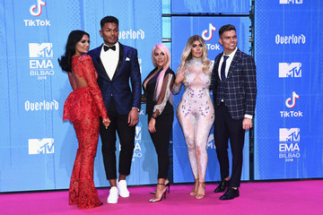 Nathan Henry MTV EMAs 2018 - Red Carpet Arrivals
