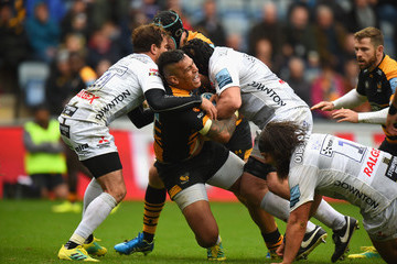 Nathan Hughes Wasps vs. Gloucester Rugby - Gallagher Premiership Rugby