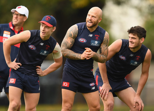 Melbourne Demons Training Session []